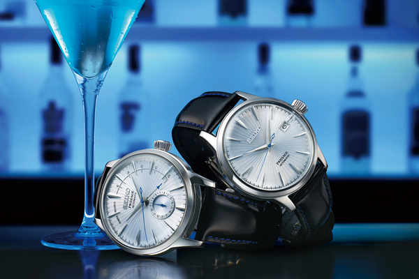 Seiko - From the cocktail bar to your wrist.