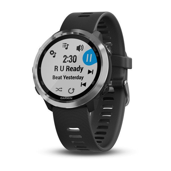 Garmin 010-01863-20 Forerunner 645 Music Black with Stainless Hardware Watch