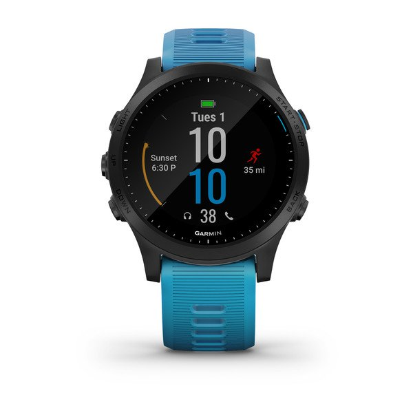 Garmin 010-02063-10 Forerunner 945 Blue Bundle Watch