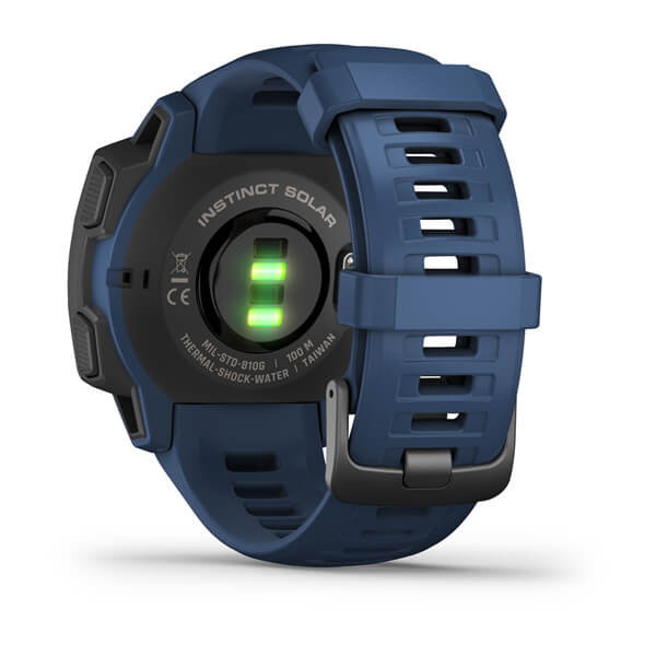 Garmin 010-02293-11 Instinct® Solar Tidal Blue Watch