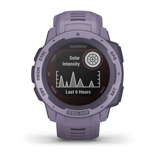 Garmin 010-02293-12 Instinct® Solar Orchid Watch