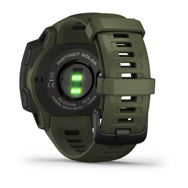 Garmin 010-02293-14 Instinct® Solar – Tactical Edition Moss Smart Watch