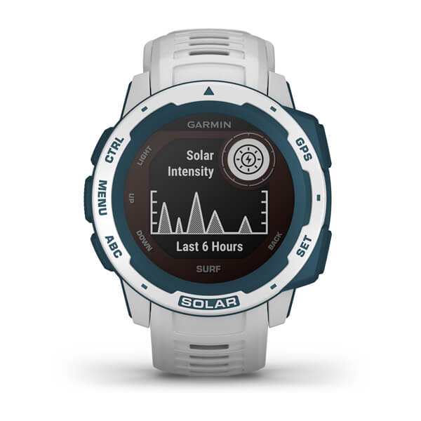 Garmin 010-02293-18 Instinct® Solar – Surf Edition Smart Watch