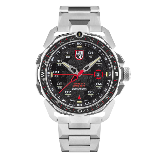 Luminox 1202 ICE-SAR Arctic Stainless Steel 46mm Case Watch