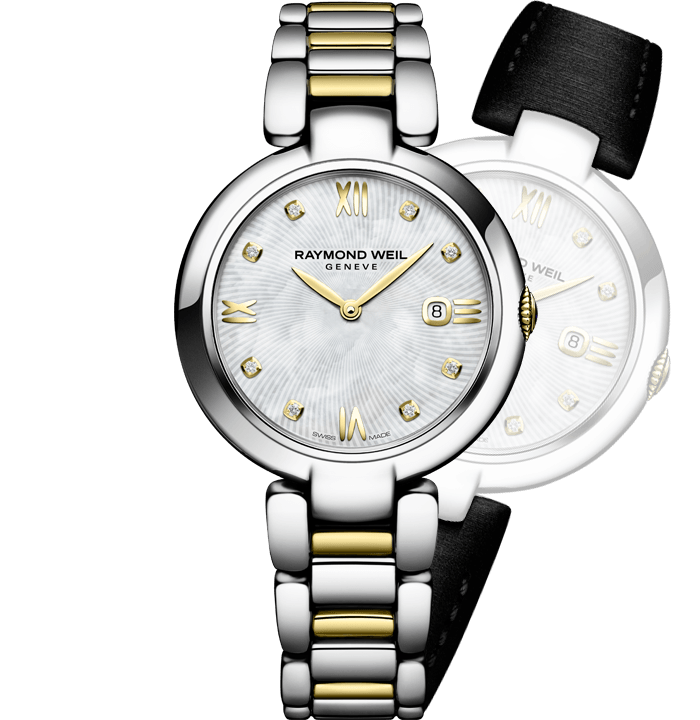 Raymond Weil 1600-STP-00995 Shine 32mm Two Tone Interchangeable Strap Watch