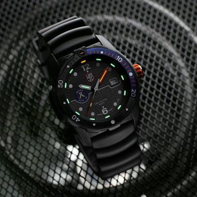 PREORDER Luminox 3723 Bear Grylls Survival SEA Series Black Rubber Strap Watch