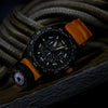 Luminox 3749 Bear Grylls MASTER Series Orange Rubber Strap Chronograph Watch