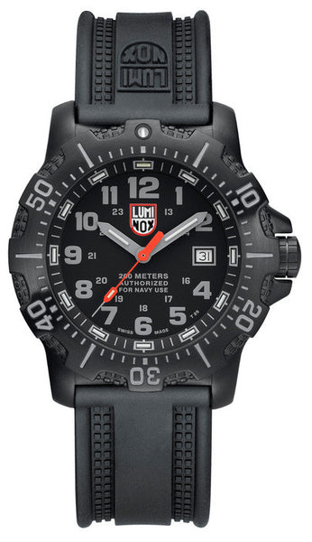 Luminox 4221 A.N.U. Black Rubber Strap 45mm Watch