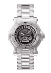 Harley Davidson by Bulova 76A11 Signature Collection Antiqued Silver Watch