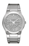 Harley Davidson by Bulova 76A134 Signature Collection Stainless Steel Watch
