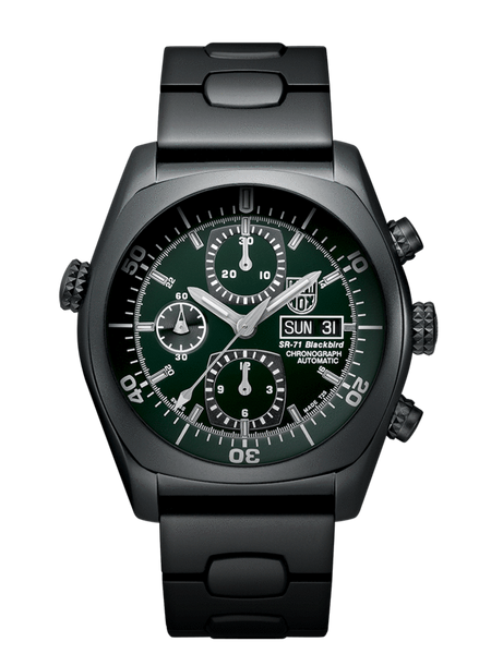 Luminox 9098 SR-71 Blackbird Automatic Chronograph Watch