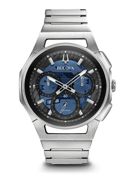 Bulova 96A205 Men's Curv Chronograph 44mm Case Watch