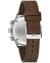 Bulova 96A245 A-15 Pilot Brown Leather Strap Automatic Watch