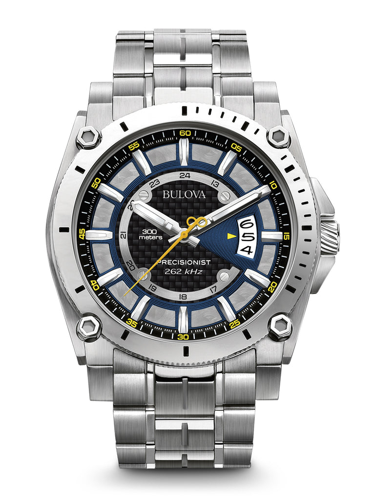Bulova 96B131 Men's Precisionist Stainless Steel Watch