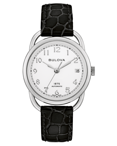 Bulova 96M152 Commodore Limited Edition Automatic White Dial 34mm Watch