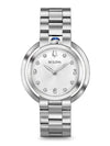 Bulova 96P184 Women's Rubaiyat Stainless Steel Watch