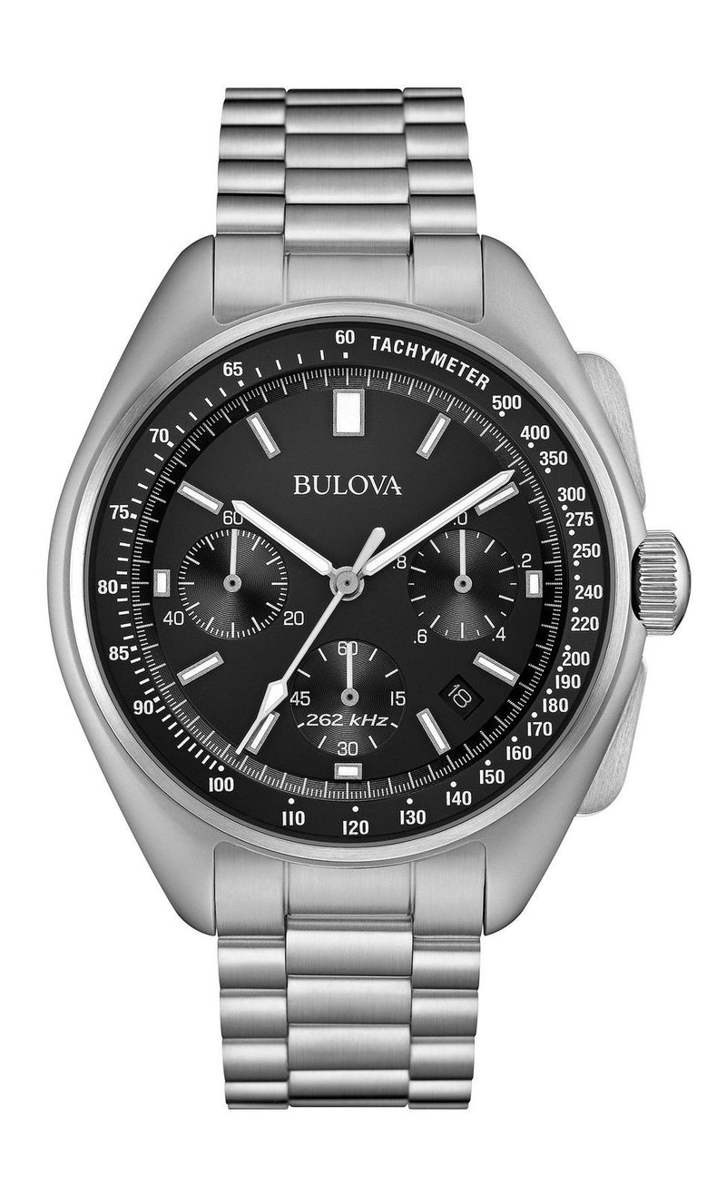 Bulova 96B258 Men's Special Edition Moon Chronograph Watch, 96b251