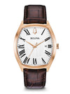 Bulova 97B173 Classic Leather Strap Ambassador Watch