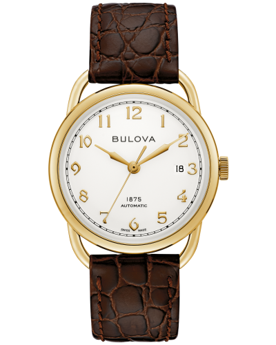 Bulova 97B189 Commodore Limited Edition Automatic Ivory Dial 38mm Watch