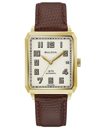 Bulova 97B192 Breton Limited Edition Automatic Beige Dial 32mm Watch