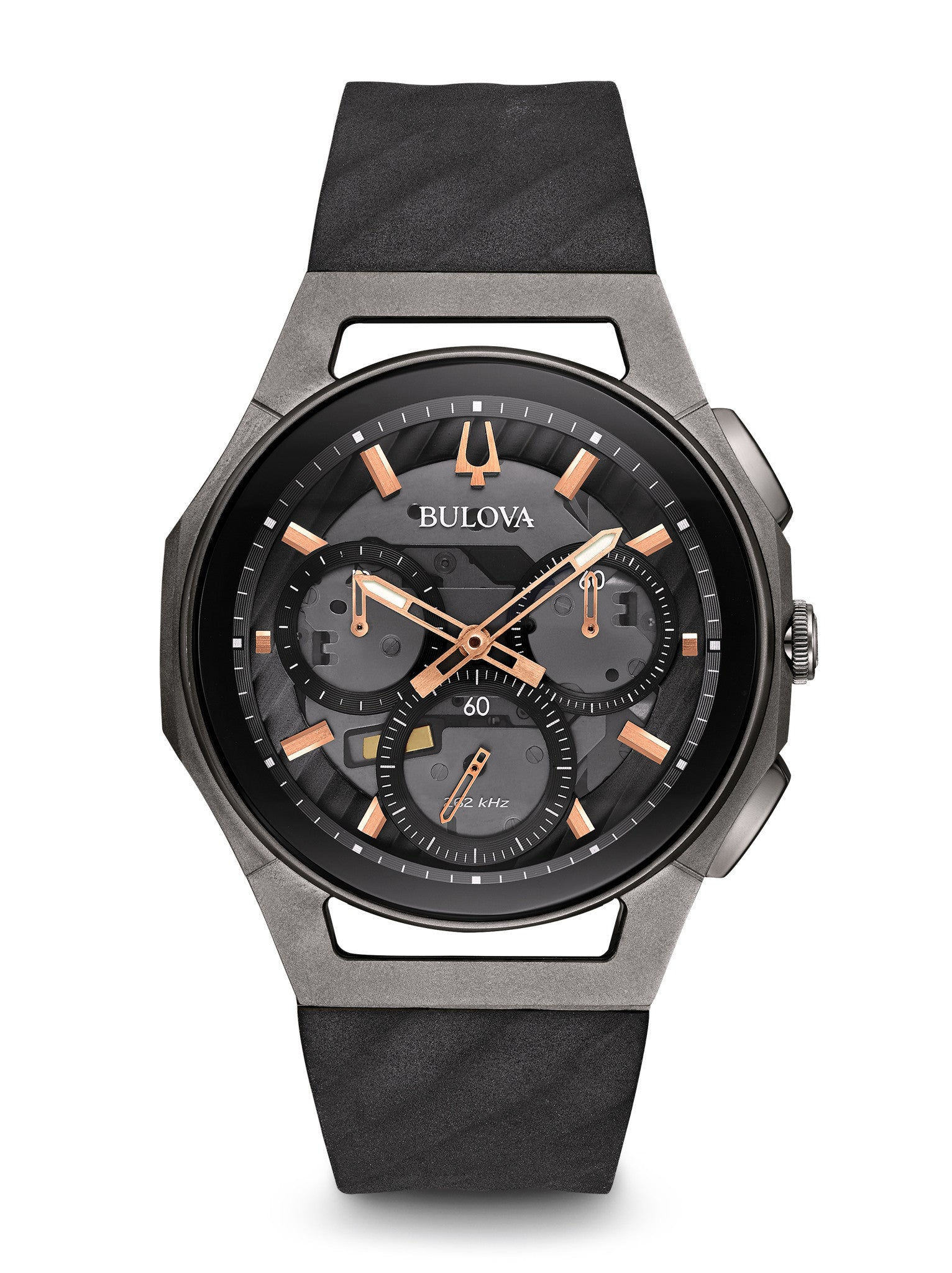 Bulova 98A162 Mens Curv Chronograph Watch