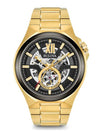 Bulova 98A178 Men's Automatic Gold Tone Stainless Steel Watch