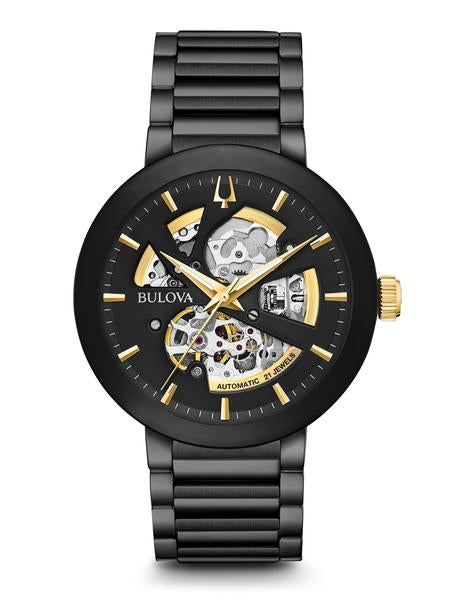 Bulova 98A203 Automatic Skeleton Dial Stainless Steel Watch