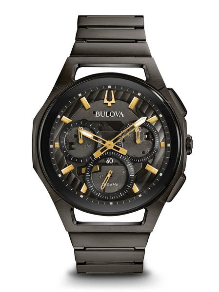 Bulova 98A206 Men's Curv Chronograph 44mm Case Watch