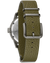 Bulova 98A255 Hack Automatic Green Leather Nato Watch
