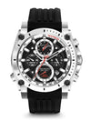 Bulova Men's 98B172 Men's Precisionist Chronograph Black Rubber Strap Watch