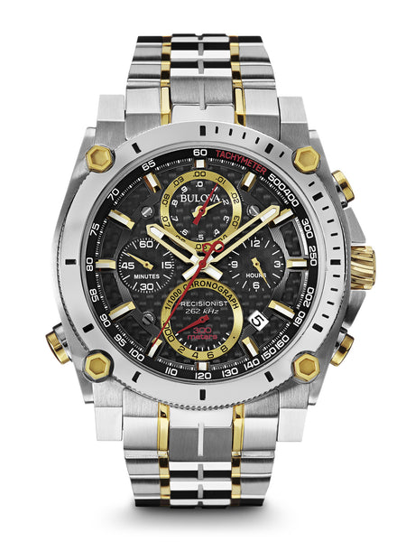 Bulova Men's 98B228 Men's Precisionist Chronograph Two-Tone Stainless Steel Watch