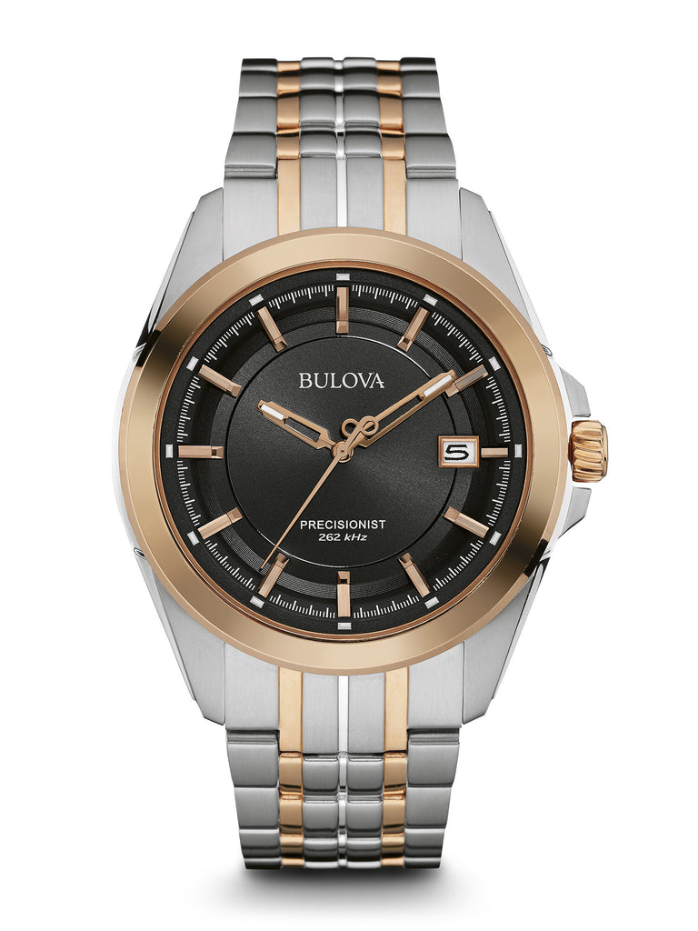 Bulova Men's 98B268 Men's Precisionist Two-Tone Stainless Steel Watch