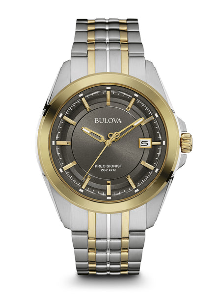 Bulova Men's 98B273 Men's Precisionist Two-Tone Stainless Steel Watch
