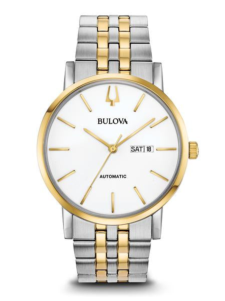 Bulova 98C130 Men's Classic Automatic Stainless Steel Watch