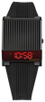 Bulova 98C135 Computron Black-Tone Digital Retro Look Watch