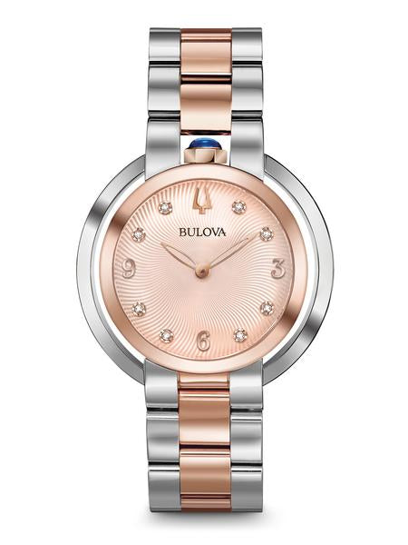 Bulova 98P174 Women's Rubaiyat Two Tone Watch