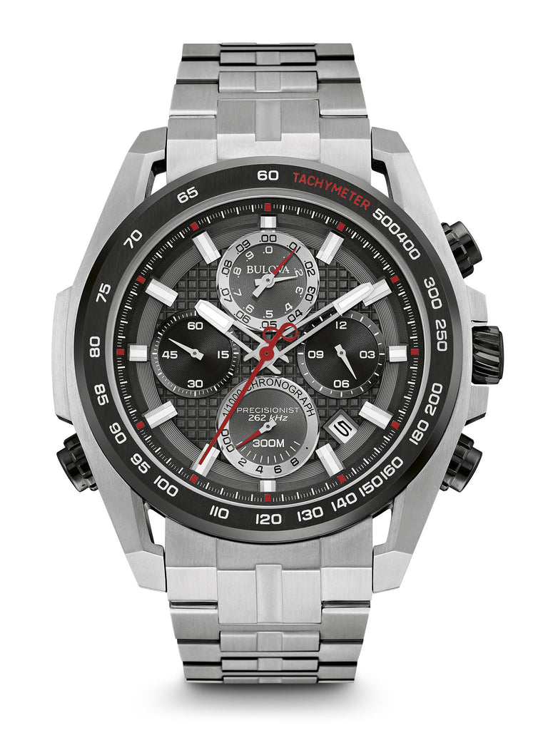 Bulova Men's 98B270 Men's Precisionist Chronograph Stainless Steel Watch