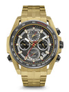 Bulova Men's 98B271 Men's Precisionist Chronograph Yellow Tone Stainless Steel Watch