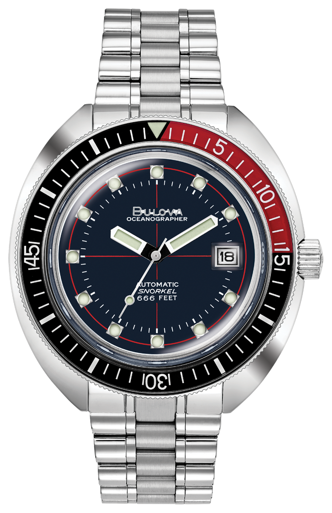 Bulova 98B320 Devil Diver Special Edition Oceanographer Watch