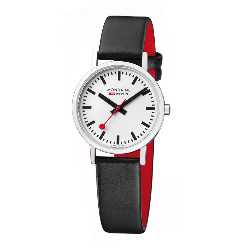 Mondaine A658.30323.16SBB Classic Leather Strap Watch