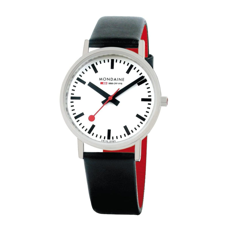 Mondaine A660.30314.16SBB Classic Leather Strap Watch