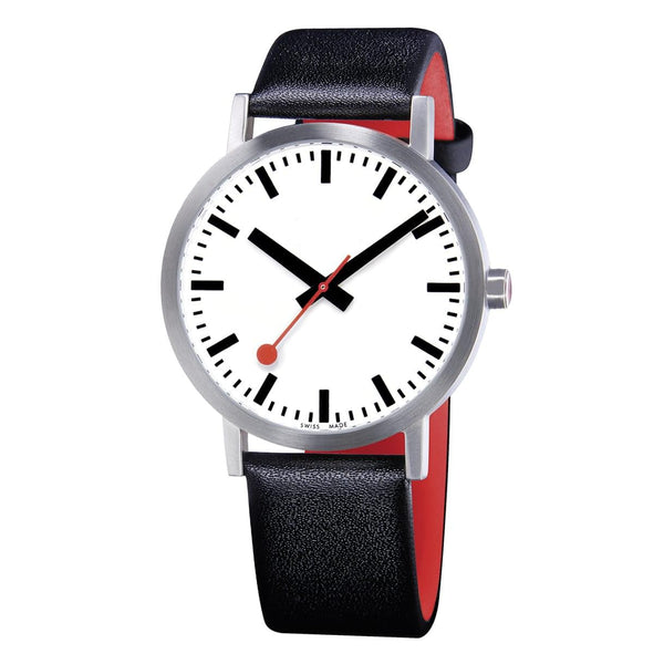 Mondaine A660.30360.16OM Classic Pure Leather Strap Watch