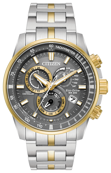 Citizen AT4124-51H Eco-Drive Two Tone Watch