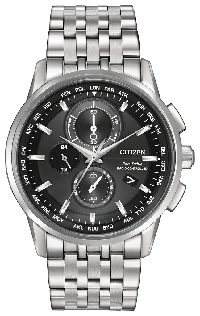 Citizen AT8110-53E Eco-Drive WORLD CHRONOGRAPH A-T Watch