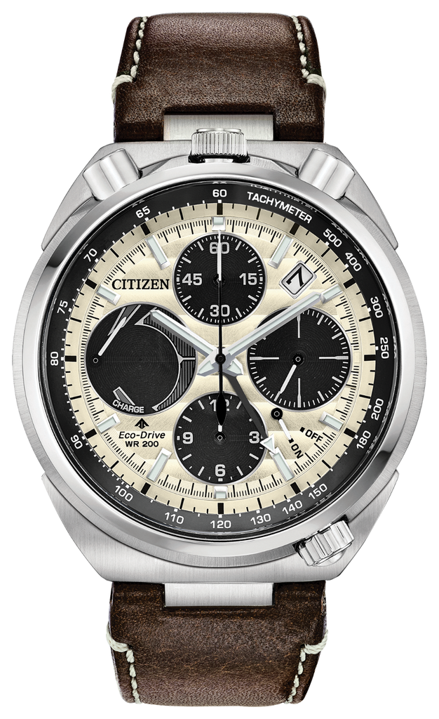 Citizen AV0079-01A Men's Eco-Drive PROMASTER TSUNO CHRONOGRAPH RACER Watch