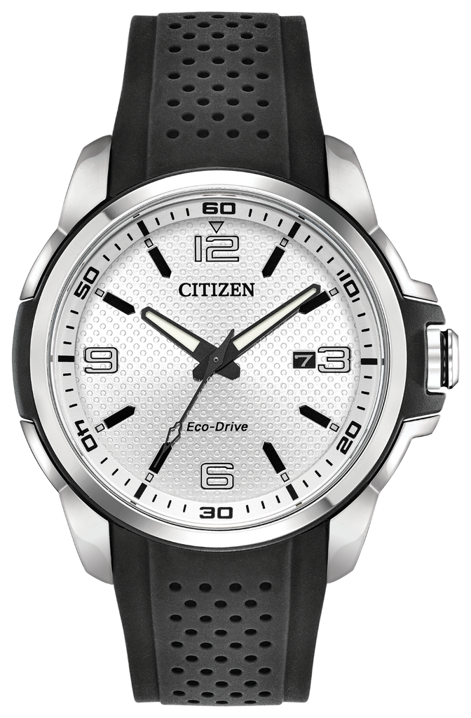 Citizen AW1150-07A Eco-Drive Rubber Strap AR Watch