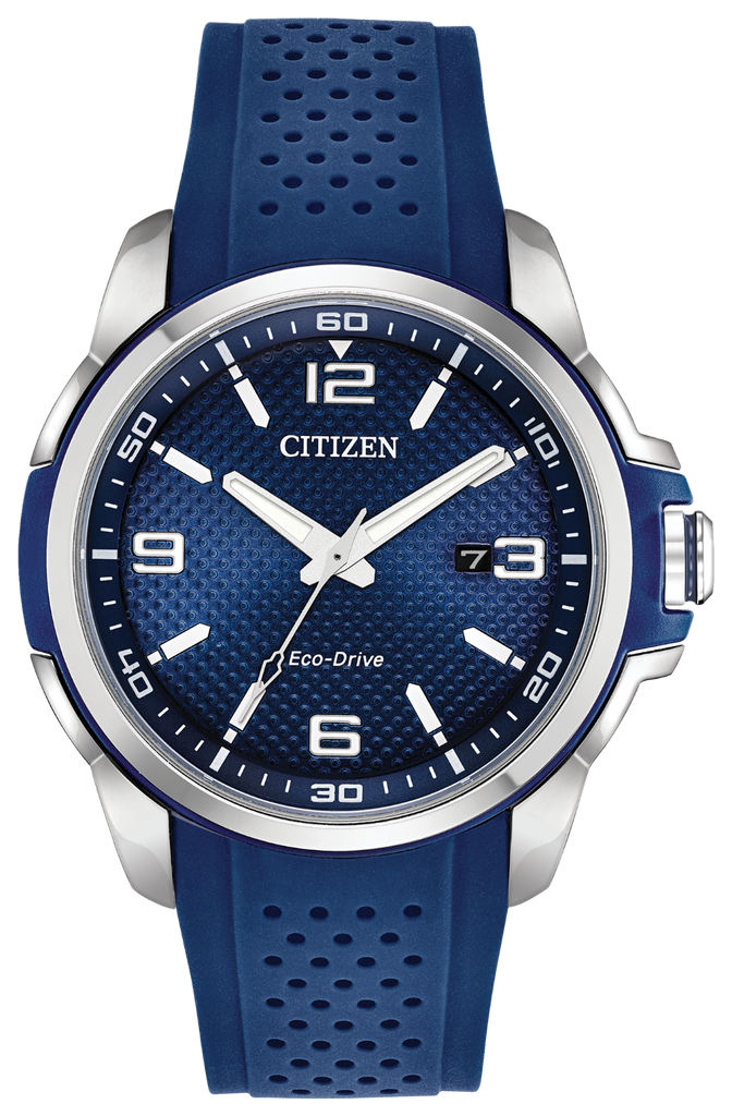 Citizen AW1158-05L Eco-Drive Rubber Strap AR Watch