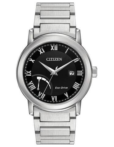 Citizen AW7020-51E Mens Eco-Drive Power Reserve Stainless Steel Watch