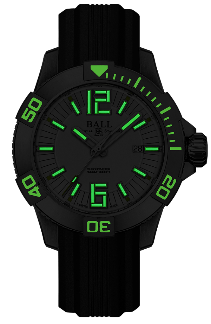 PREORDER BALL DM3002A-P2C-WH Engineer Hydrocarbon DeepQUEST II 42mm Watch