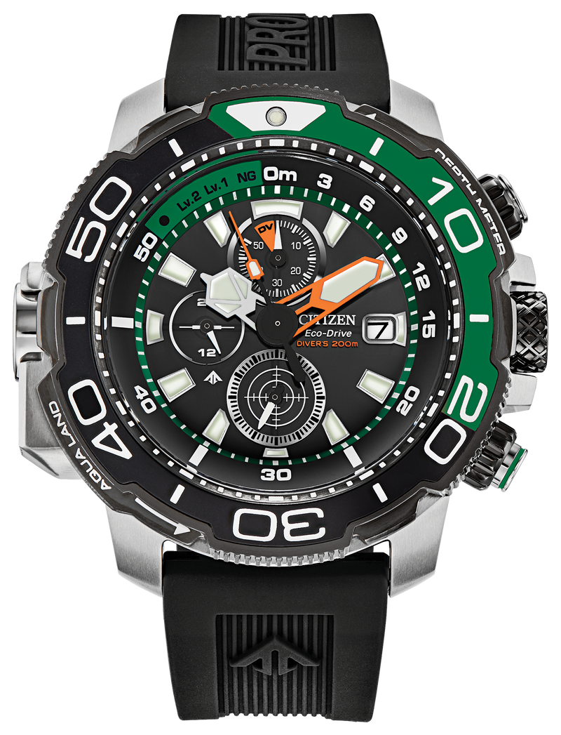 PREORDER Citizen BJ2168-01E Eco-Drive PROMASTER AQUALAND 46mm Watch